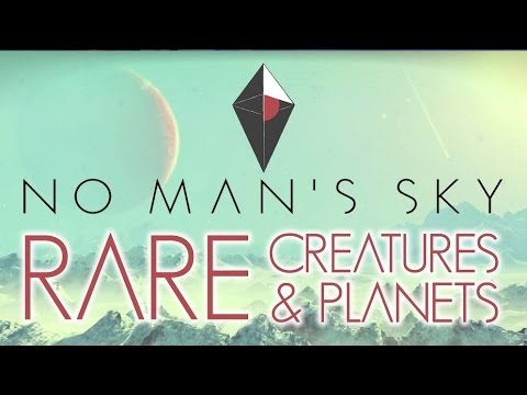 NO MAN'S SKY GAMEPLAY - RARE CREATURE & PLANETS - PS4