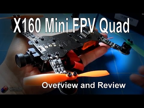 RC Reviews – X160 Mini FPV Quadcopter (from Banggood.com)