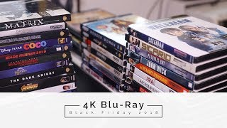 Black Friday 4K Blu-Ray Buying Guide 2018