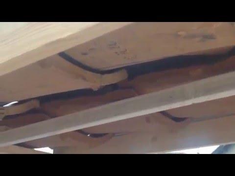 石州瓦シバオ ウルトラ3S瓦Bタイプと普通瓦の雨漏り実験