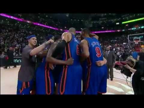 Linsanity - New York Knicks vs Toronto Raptors - Jeremy Lin vs Jose Calderon Feb 14 2012