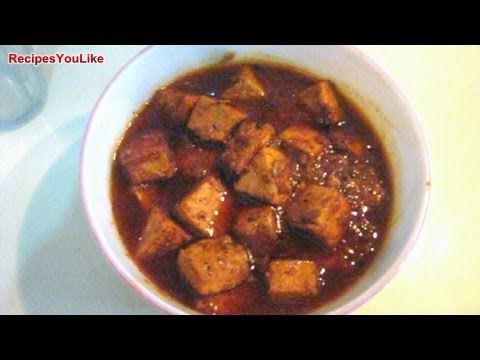 Spicy Masala Paneer [ Indian Cottage Cheese Recipe ]