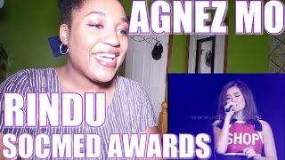 Agnez Mo - Rindu (SocMed Awards 2016) | REACTION