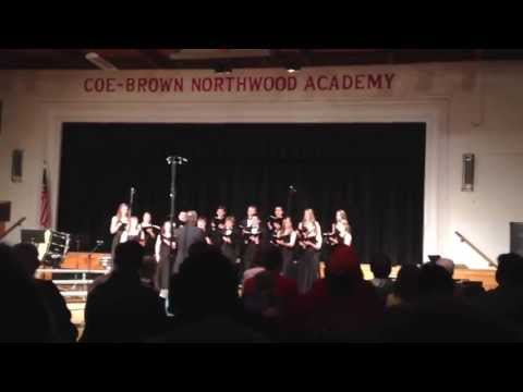 Coe Brown Northwood Academy Select Chorus 2013 - i carry your heart with me (Spring Concert)