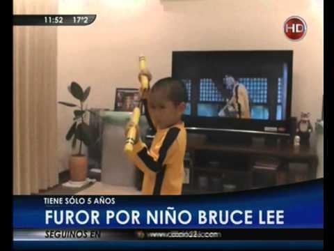 Canal 26 -Niño japonés de 5 años que imita a la perfección a Bruce Lee