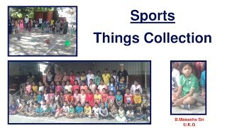 THINGS COLLECTION KIDS COMPETITION-LKG & UKG
