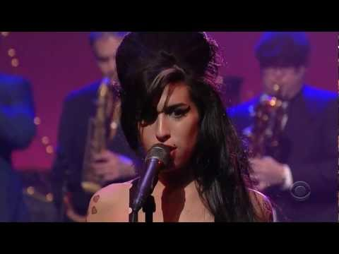 "Amy Winehouse (HD)  ""Rehab"" Live on David Letterman"