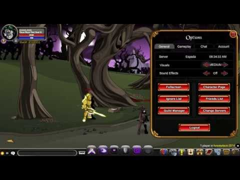 AQW 2014 como dropa chaorrupted lycan hunter