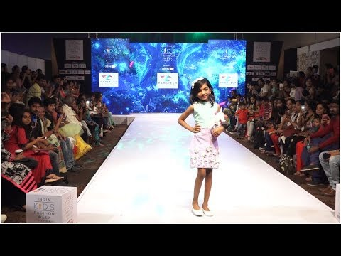 Designs by Hamstech Students Sizzle the India Kids Fashion Show