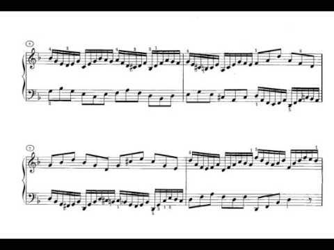 Бах Иоганн Себастьян - BWV 847, 858 - Прелюдии и фуги