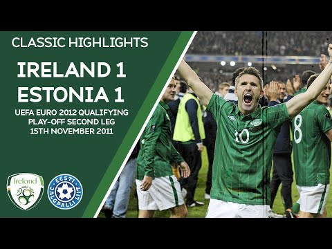 CLASSIC HIGHLIGHTS | Ireland 1-1 Estonia - UEFA EURO 2012 Qualifying Play-Off Second Leg