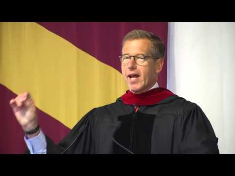 Elon University Commencement Address 2013 - Brian Williams P'13