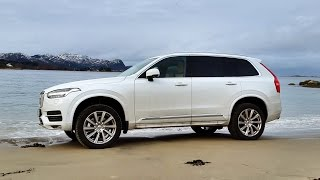 2016 Volvo XC90 - Driving on a beach!