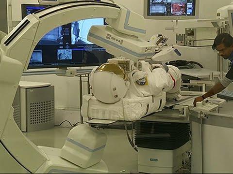 NASA, Hospital Fix Spacesuit Through Imaging