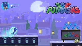 PJ Masks: Moonlight Heroes - Race across the rooftops   Catboy – ability to jump higher
