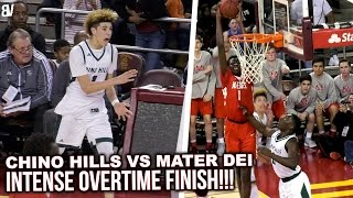 Chino Hills TAKEN DOWN By Mater Dei In OVERTIME PLAYOFF BATTLE! CLASSIC OT FINISH At USC! Highlights