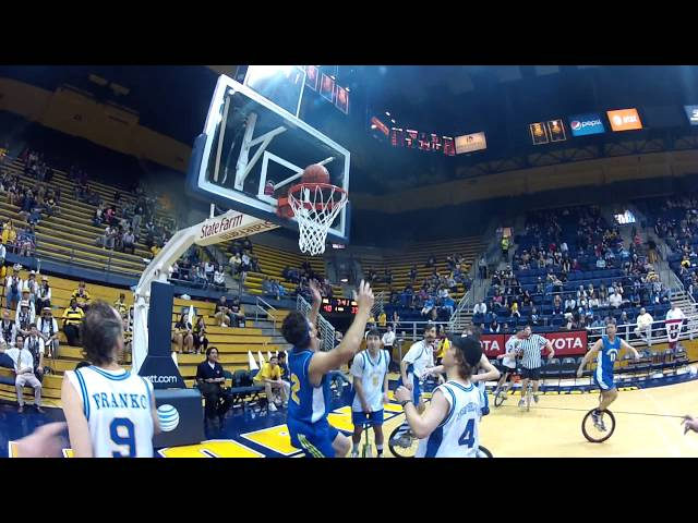 Unicycle Basketball Performance at Cal v. UCLA Game - Pt. 2