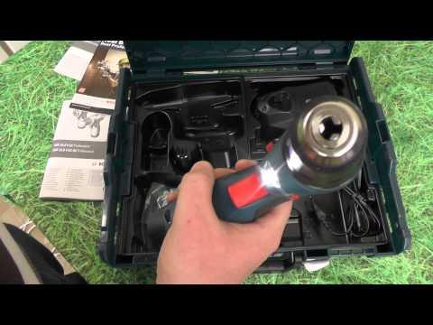 Шуруповерт Bosch GSR 10.8 V-EC