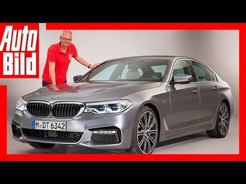 Neuvorstellung: BMW 5er / 2017 / Erste Sitzprobe Im Neuen 540i / Review