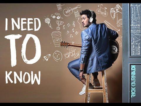 download lagu Rick Karnadi - I Need To Know (Official Music Video) gratis