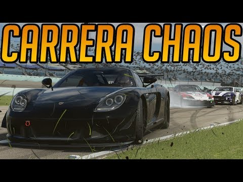 Forza 7 Trying To Avoid The Chaos