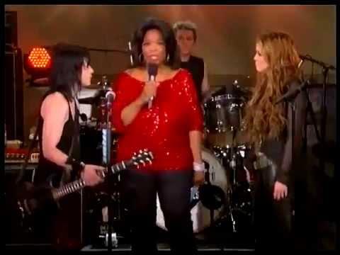 Miley Cyrus & Joan Jett - Interview & Performance on The Oprah Show (2011) (HD)