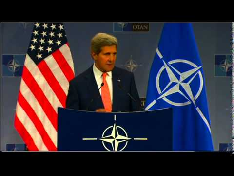 Secretary Kerry Delivers Remarks at the NATO Headquarters