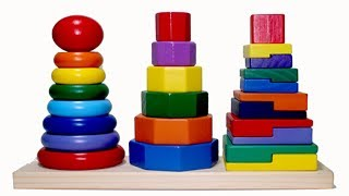 Learn Color And Number    Color Play Wooden Diy In Bing Bing Kids.