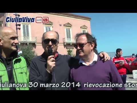 Rievocazione storica cronoscalata Giulianova Lido Giulianova Alta  Memorial Marco Muzzi
