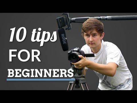 10 Tips for Beginner Filmmakers