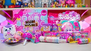 Pikmi Pops Num Noms Surprizamals Squish Dee Lish Toys Surprise Eggs for Girls Kinder Playtime