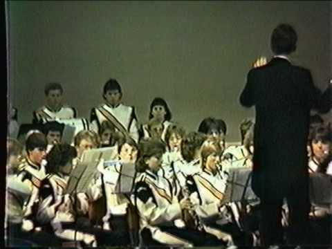 Gateway Senior High School Marching Band Festivals of Music Orlando April 11 through 14, 1985 2 of 5