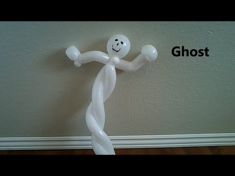 Ghost Balloons Balloon Ghost Tutorial