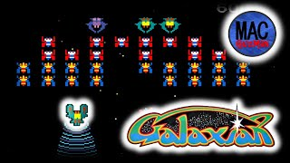 Difference between Galaxian and Galaga - trying hard to like this game