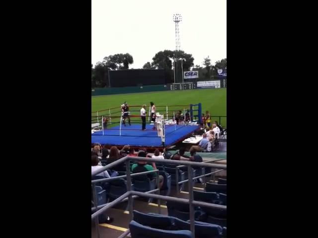 Shane Manley boxing