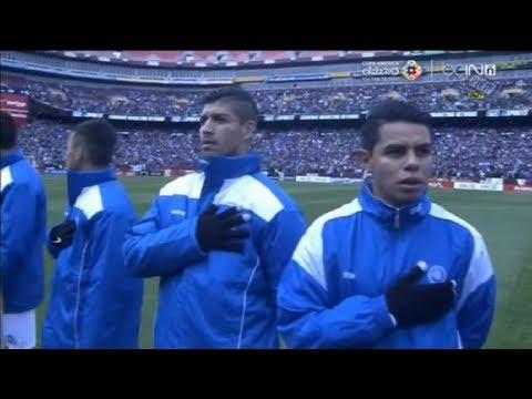 FedEx Field plays wrong National Anthem/Himno for El Salvador vs Argentina : 3.28.2015