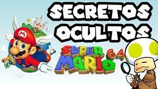 Los SECRETOS OCULTOS de Super Mario 64 que tal vez no conocías