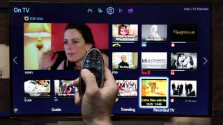 Samsung Smart TV - How to use your Smart Control