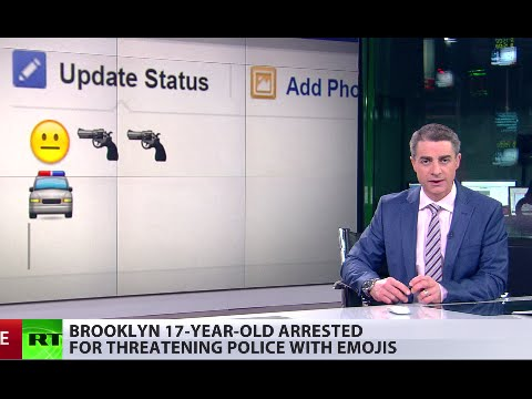 Facebook post emojis spark a cop call - result in illegal gun possession charge