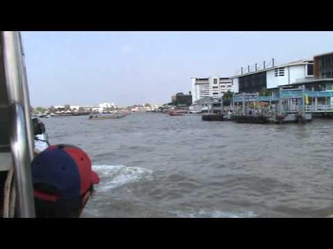 タイ バンコク チャオプラヤー川 エクスプレス・ボート bangkok THAI ChaoPhraya