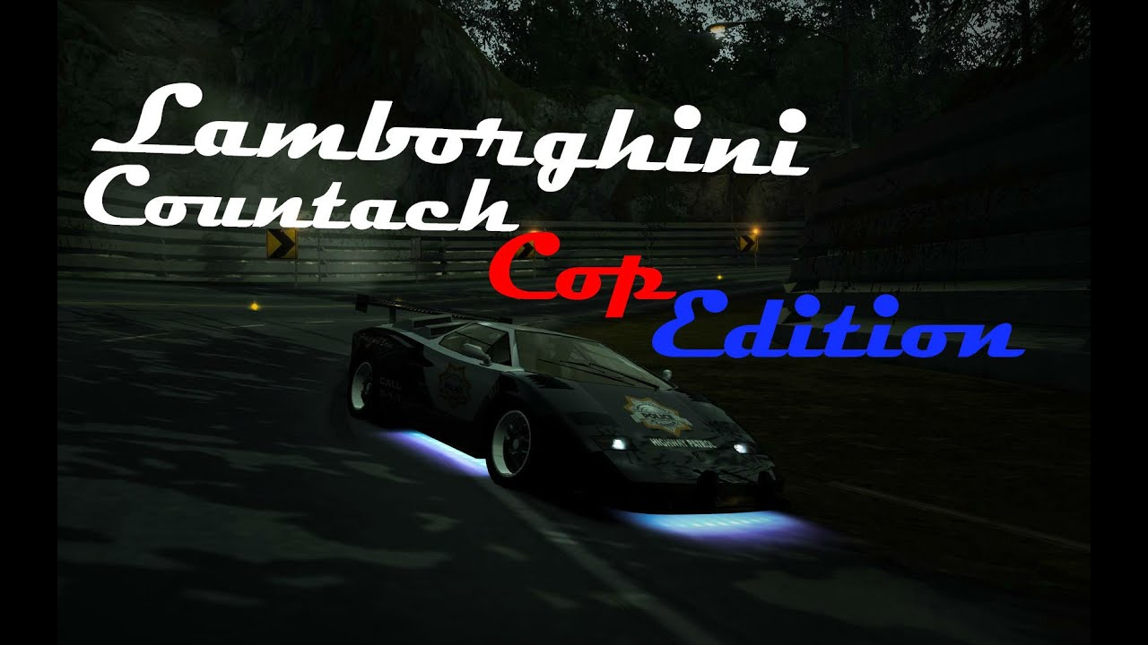 nfs world lamborghini countach cop edition b class test drive youtube. Black Bedroom Furniture Sets. Home Design Ideas