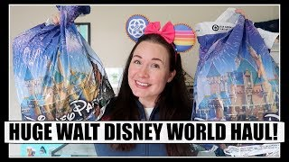 HUGE DISNEY WORLD HAUL! Freebies, Clothes, Pins and More! | Spring 2018