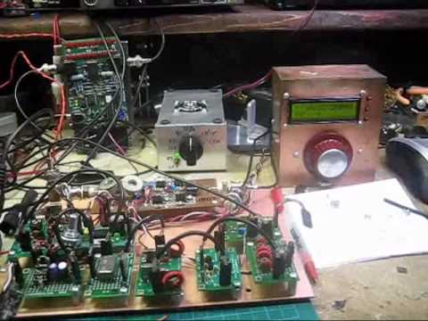 Homebrew QRP SSB transmitter