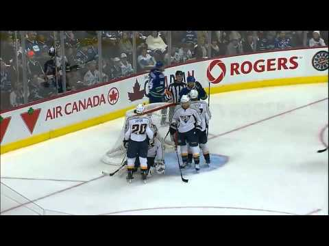 Vancouver Canucks vs Nashville Predators Game 5 Highlights 5/7/11