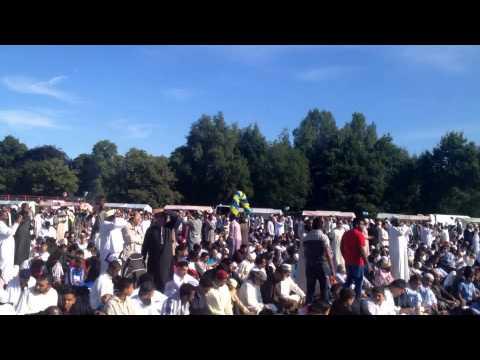 Eid Mubarak:::40,000 Muslims celebrate in Small Heath Park Birmingham