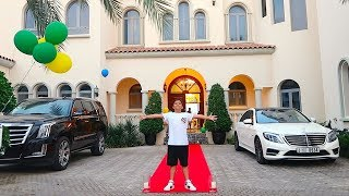 His 12th birthday $25 MILLION MANSION SURPRISE !!!