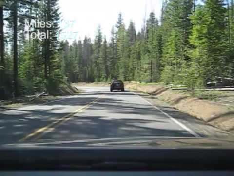 Road Trip Time Lapse - 7/13/09 - Klamath Falls, OR to Crater Lake to Crescent City, CA