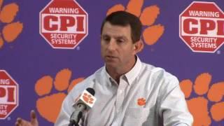 Download TigerNet.com - Dabo Swinney Clemson Media Day Press Conference - Part 1 3Gp Mp4