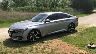 5 things I love the most about my 2018 Honda Accord Sport 1.5