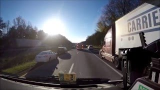 BVFD Engine 3 Responding in Heavy Traffic 12/29/15, (Ride Along)